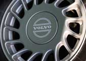Volvo steering wheel